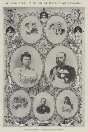 The Duke and Duchess of Saxe-Coburg-Gotha, with their Children and Grandchildren