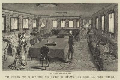 The Wedding Trip of the Duke and Duchess of Connaught, on Board Hm Yacht Osborne