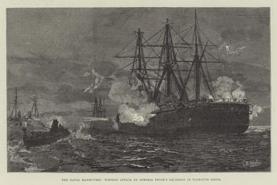 The Naval Manoeuvres, Torpedo Attack on Admiral Tryon's Squadron in Plymouth Sound