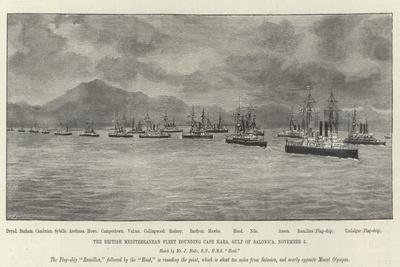 The British Mediterranean Fleet Rounding Cape Kara, Gulf of Salonica, 5 November