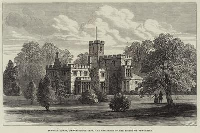Benwell Tower, Newcastle-On-Tyne, the Residence of the Bishop of Newcastle