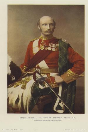 Major-General Sir George Stewart White, Vc, Commanding the British Forces in Natal