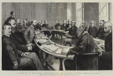 A Meeting of the Royal Commission on the Housing of the Working Classes