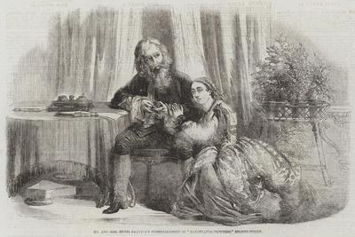 Mr and Mrs Henri Drayton's Entertainment of Illustrated Proverbs, Regent-Street