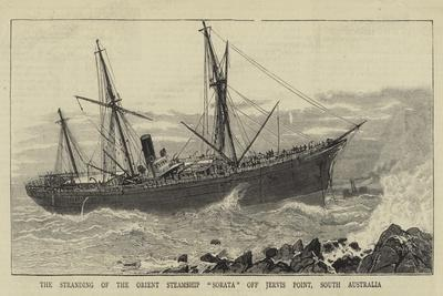 The Stranding of the Orient Steamship Sorata Off Jervis Point, South Australia