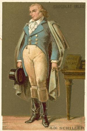 Friedrich Von Schiller, German Poet, Philosopher, Historian and Playwright