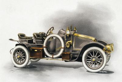 Torpedo Type Cg Renault Motor Car, Renault Catalogue, 1911, France, 20th Century