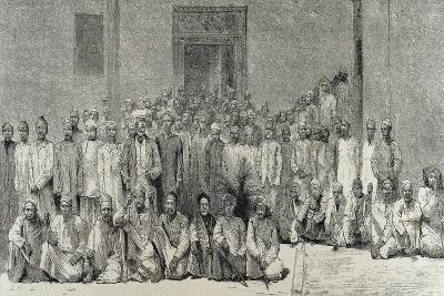 Stanley and His Companions Return from the Expedition to the Interior of Africa.