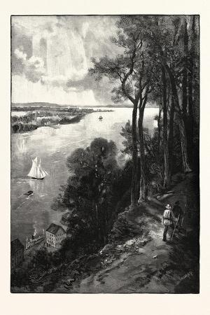 Bay of Quinte, from Above Stone Mills, Canada, Nineteenth Century