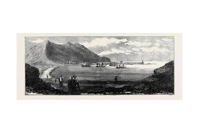 Carthagena after the Siege: Mersel Kebir Bay Near Oran with Spanish Vessels of War 1874