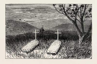 Graves of Lieut. Scott Douglas and Corporal Cotter at Kwamagaza, Zulu War, 1879