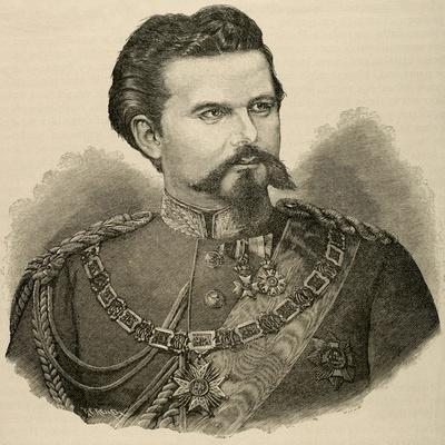 Ludwig II of Bavaria (1845-1886). King of Bavaria from 1864 Until His Death., 1885