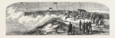 The Volunteer Artillery at Shoeburyness: Firing for the Prince of Wales's Prize, UK, 1865
