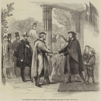 The Meeting of Garibaldi and Tennyson at Faringford House, Isle of Wight