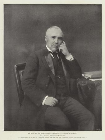 The Right Honourable Sir Henry Campbell-Bannerman, Mp for Stirling District