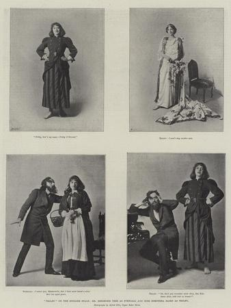 Trilby on the English Stage, Mr Beerbohm Tree as Svengali and Miss Dorothea Baird as Trilby