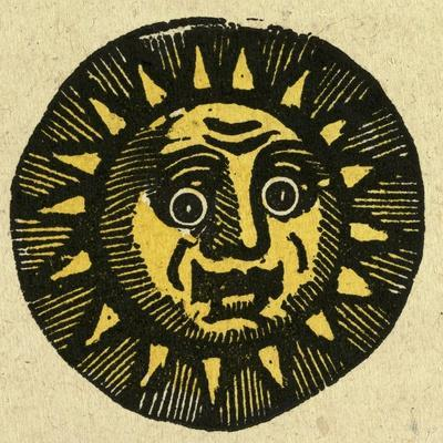Illustration of English Tales Folk Tales and Ballads. the Face of the Sun