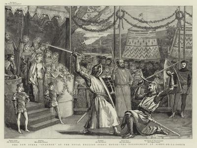 The New Opera Ivanhoe at the Royal English Opera House, the Tournament at Ashby-De-La-Zouch