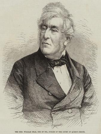 The Honourable William Shee, One of the Judges of the Court of Queen's Bench