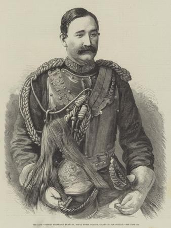 The Late Colonel Frederick Burnaby, Royal Horse Guards, Killed in the Soudan