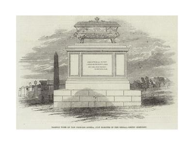Marble Tomb of the Princess Sophia, Just Erected in the Kensal-Green Cemetery