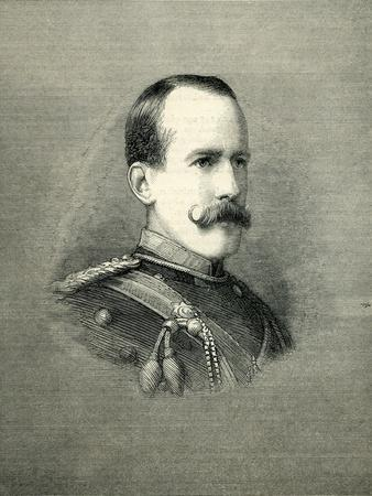 Baron Vernon, Seconder in the House of Lords from 'The Graphic' February, 1884