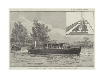 Launch Propelled on the Zephyr System, Built by Messers Yarrow and Company, Poplar