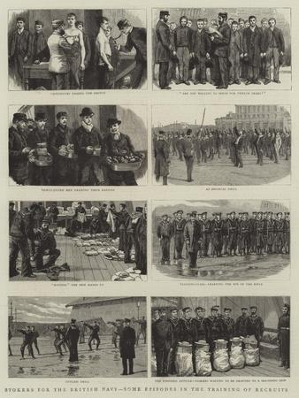 Stokers for the British Navy, Some Episodes in the Training of Recruits