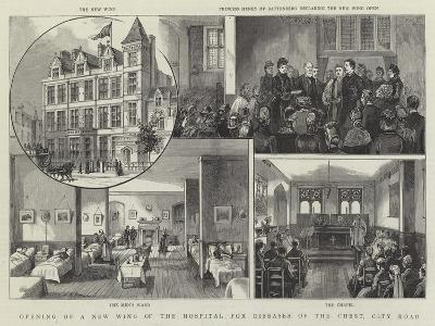 Opening of a New Wing of the Hospital for Diseases of the Chest, City Road