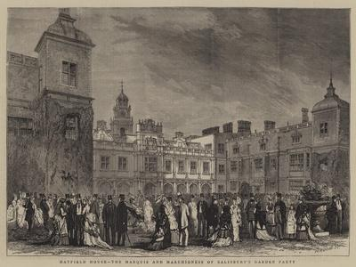 Hatfield House, the Marquis and Marchioness of Salisbury's Garden Party