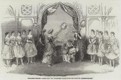 Haymarket Theatre, Scene from Mr Buckstone's Voyage Round the Globe, in Leicester-Square