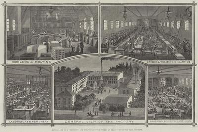 Mouson and Company's Perfumery and Toilet Soap Steam Works at Frankfort-On-The-Main, Germany
