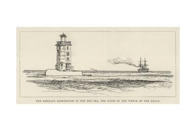 The Daedalus Lighthouse in the Red Sea, the Scene of the Wreck of the Dacca