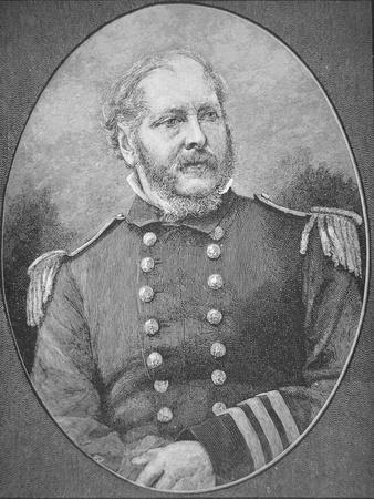 Rear-Admiral John A. Winslow (1811-1873), Captain of the U.S.S. Kearsarge