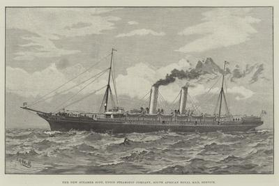 The New Steamer Scot, Union Steamship Company, South African Royal Mail Service