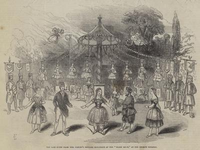 The Last Scene from Mrs Keeley's Popular Burlesque of the Magic Horn, at the Lyceum Theatre