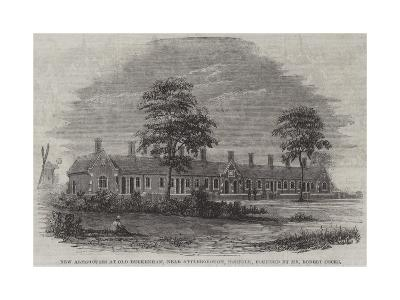 New Almshouses at Old Buckenham, Near Attleborough, Norfolk, Founded by Mr Robert Cocks