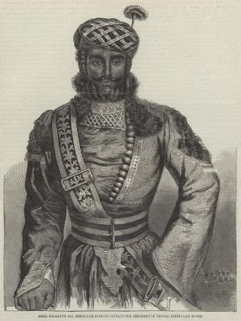 Meer Heidayut Ali, Rissaldar (Native Captain) 4th Regiment of Bengal Irregular Horse