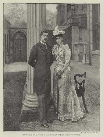 The Royal Betrothal, Princess Marie of Edinburgh and Prince Ferdinand of Roumania