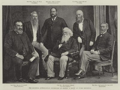 The National Australasian Convention at Sydney, a Group of Prime Ministers