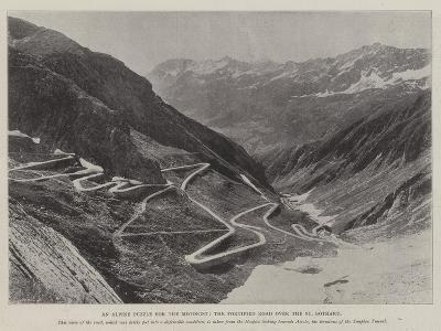 An Alpine Puzzle for the Motorist, the Fortified Road over the St Gothard