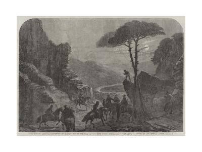 The War in America, Rendezvous of Mosby's Men in the Pass of the Blue Ridge, Shenandoah Valley