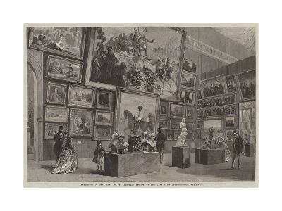 Exhibition of Fine Arts in the Austrian Section of the Late Paris International Exhibition