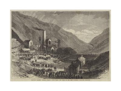 Ferndale Colliery, Rhondda Valley, South Wales, the Scene of the Late Disastrous Explosion