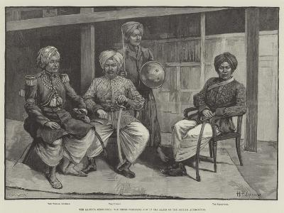 The Manipur Expedition, the Three Prisoners Now in the Hands of the British Authorities