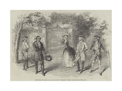 Scene from Mr Balfe's New Opera of the Bondman, at Drury Lane Theatre, the Duel