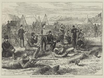 The International Rifle-Match Between American and Irish Teams, at Dollymount, Near Dublin