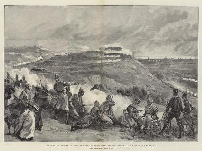 The Easter Monday Volunteer Manoeuvres, Capture of Caesar's Camp, Near Folkestone
