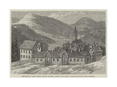 Meyerling, Near Baden, Upper Austria, Where the Crown Prince Rudolph Shot Himself