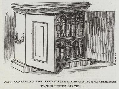 Case, Containing the Anti-Slavery Address for Transmission to the United States